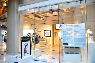 Toronto's museum of Inuit art has operated since 2007 as the only public institution devoted to Inuit art. (PHOTO BY SARAH ROGERS)