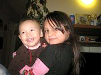 Two-year-old Ailyah Degrasse, left and her sister Alexandra Degrasse, 7 were found dead alongside their mother June 7. The three will be buried in Pond Inlet.(FACEBOOK PHOTO REPRODUCED WITH PERMISSION OF MICAH ARREAK)