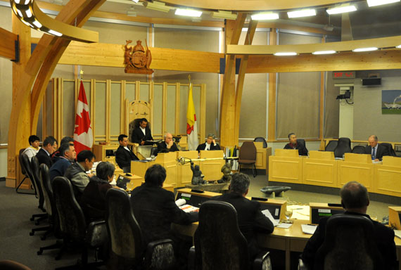 When the Nunavut legislature meets again next month, three new members will sit in the assembly, following the results of the Sept. 12 elections in three Nunavut ridings: Monica Ell, the director of the Inuit Broadcast Corp. in Iqaluit, for Iqaluit West; Hezekiah Oshutapik, a former mayor of Pangnirtung, who will represent Pangnirtung; Joe Enook, a Nunasi Corp. vice-president, who won Tununiq, which includes the community of Pond Inlet. (FILE PHOTO)