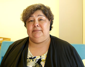 Monica Ell won Iqaluit West with 230 votes in a Sept. 12 by-election, easily fending off Kirt Ejesiak and Tuutalik Boychuk. (FILE PHOTO)