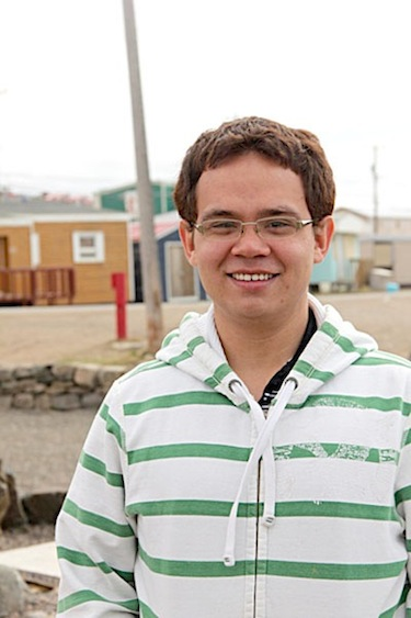 Nuqinga Joey Korgak of Iqaluit plans to travel to Nicaragua next month to build a school. Right now he's fundraising to help defray his expenses. (PHOTO BY SAMANTHA DAWSON)