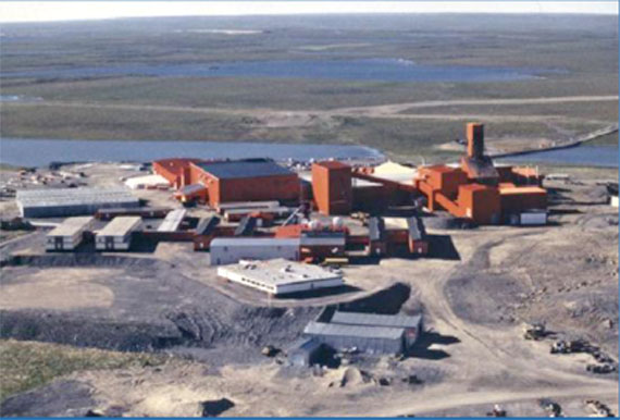 Elgin Mining Inc. once had high hopes for the old Lupin mine site in the Kitikmeot region of Nunavut, but the company has now decided to mothball the project. (PHOTO COURTESY OF ELGIN MINING)