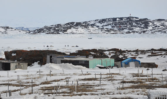 Forty-five people died by suicide in Nunavut in 2013 — the highest number recorded for any given year since the territory's creation in 1999. (PHOTO BY SARAH ROGERS)