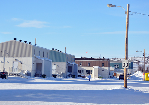 Nunavik MP Romeo Saganash said Feb. 25 that the Conservative government has failed to provide adequate housing to communities in northern Quebec. (PHOTO BY SARAH ROGERS)