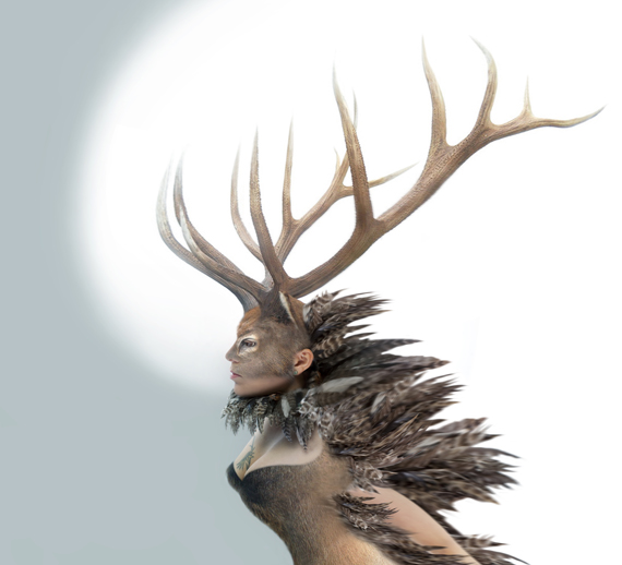 Tanya Tagaq's new album Animism comes out May 27. (IMAGE COURTESY OF SIX SHOOTER RECORDS)