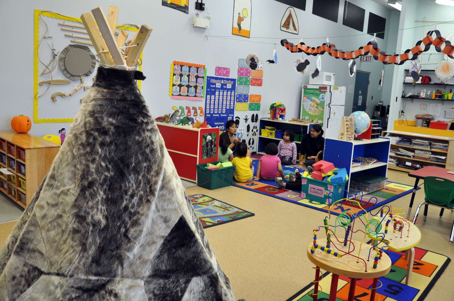 This federally-funded Aboriginal Head Start program in Arviat launched in 1995, the same year the First Nations and Inuit Child Care Initiative launched, creating hundreds of childcare spaces for Aboriginal children across the country. (FILE PHOTO)