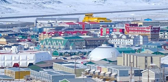 Iqaluit will find itself in the international spotlight this week as the Arctic Council gets ready to hold its ministerial meeting April 24 in the city. (PHOTO BY JANE GEORGE)
