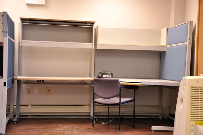 The Government of Nunavut will find itself with more empty cubicles like this one if they don't do more to rid the public service of its toxic work environment, MLAs and experts say. (PHOTO BY THOMAS ROHNER)