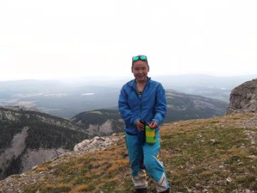 Shania Angohiatok was one of two Cambridge Bay youths who went on an Outward Bound adventure in the Canadian Rocky Mountains this past summer courtesy of the Ayalik Fund. (OUTWARD BOUND PHOTO)