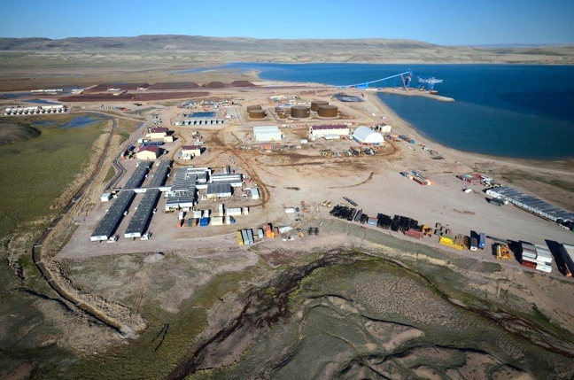 Baffindland's Milne Inlet port, seen in July 2015. Years after its Mary River iron mine's approval, Baffinland has no formal guidelines to inform the level of data the company collects on its project, and how its analyses are reported, WWF-Canada said in response to the company's 2015 annual report. (FILE PHOTO)