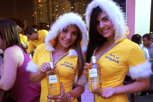 This is how Ungava likes to promote its gin, with faux-furred