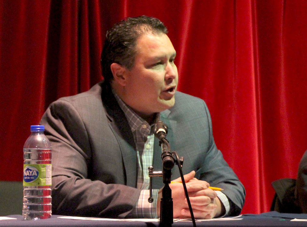 Health Minister George Hickes is seeking re-election in Iqaluit-Tasiluk. (PHOTO BY BETH BROWN)