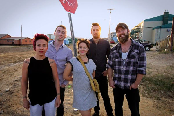 Iqaluit's The Jerry Cans picked up two nominations for this year's Juno Awards, one of which is for breakthrough group of the year. (FILE PHOTO)